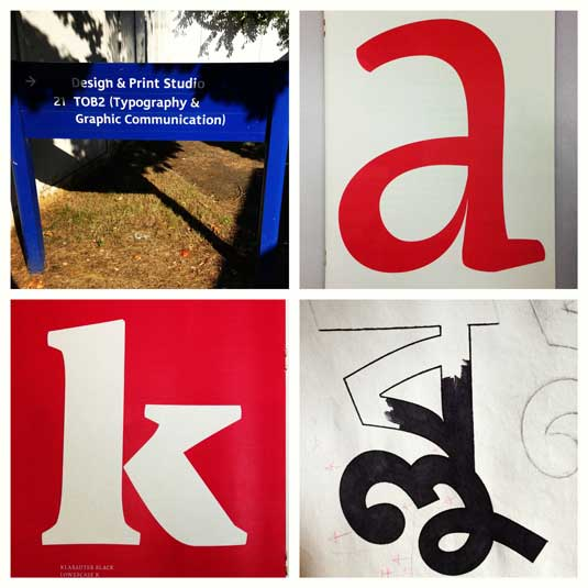 How to design your own typeface