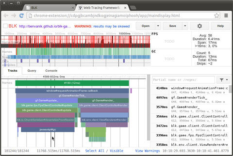 Analyze The Performance Of JavaScript-Heavy Apps With Web Tracing Framework