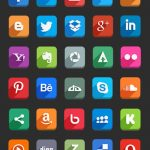 2.free-flat-social-icons