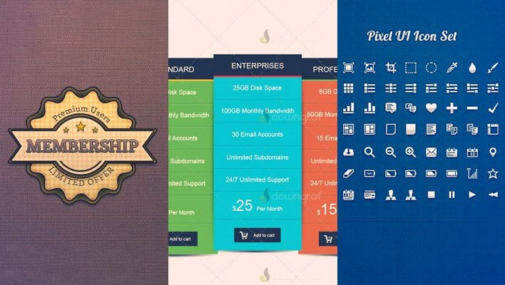 20 High Quality Free PSD Files for Designers