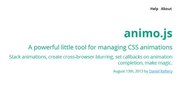 A powerful little tool for managing CSS animations