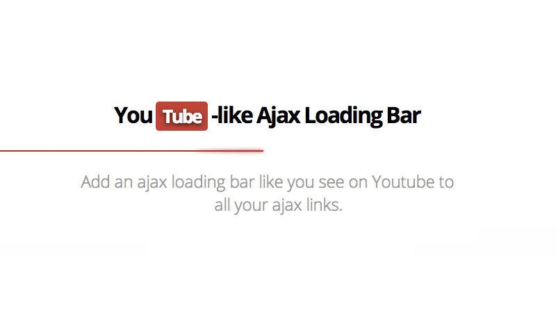 LoadingBar.js: Adding a YouTube-Like Loading Bar to Your Website