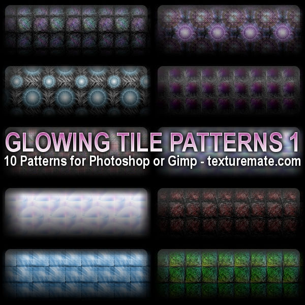 20 Latest Useful Free Photoshop Pattern Sets for Designers