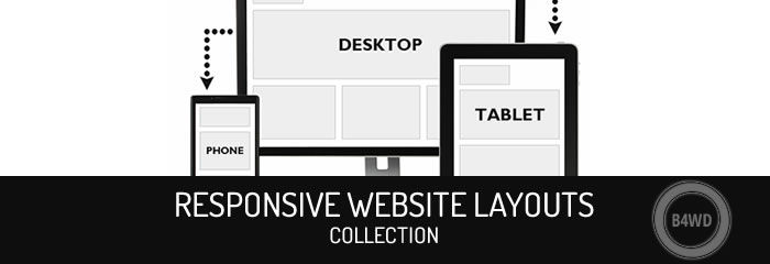 250+ Examples of Mobile Responsive Website Layouts