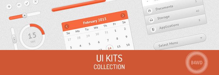 300+ Free UI Kits