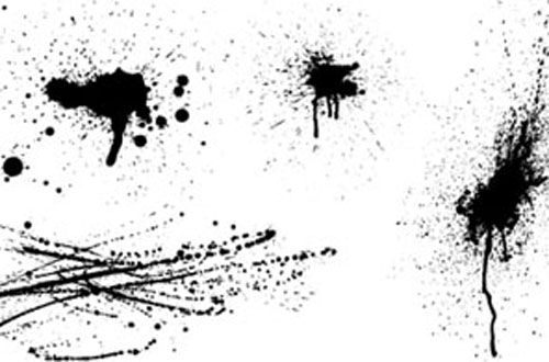 20 Free Awesome Splatters Vectors