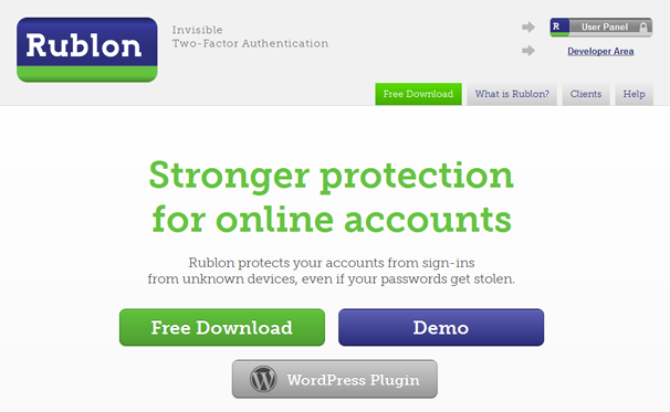 How To: Strengthen Your WordPress Login Process with Rublon: Free Plugin Review