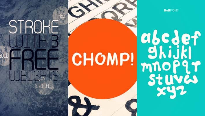 40+ High Quality Free Fonts For Designers