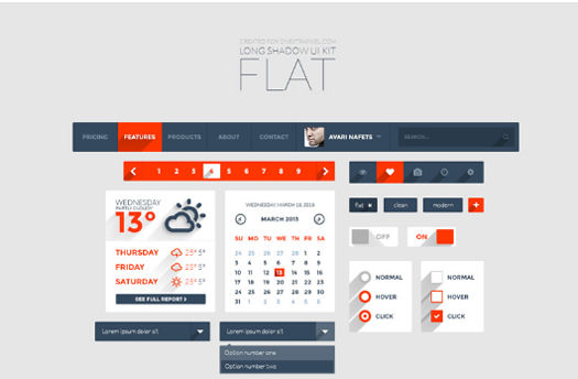 70 Best Free Photoshop PSD UI Kits / Wireframes for Web & Smartphone Apps