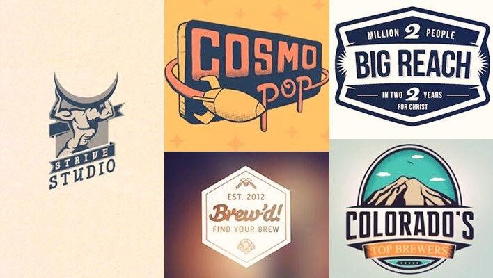 40 Retro Logo Designs Inspiration