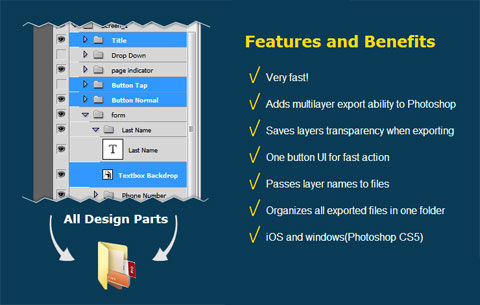 Free Photoshop Extension Export Multiple Layers