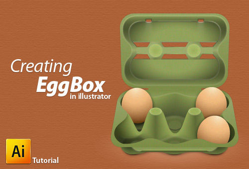 Illustrator Tutorial: How to Create an Egg Box