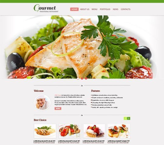 50 High Quality Free HTML5 And CSS3 Web Templates