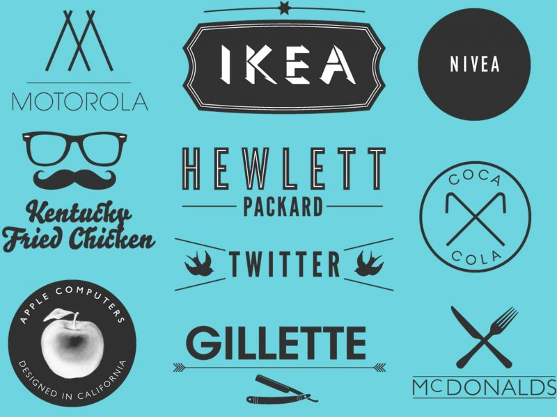 How to create a hipster logo