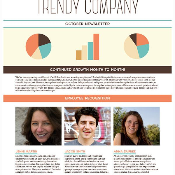 Create a Trendy One Page, Print Ready Newsletter in Adobe InDesign