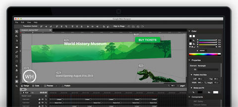 Google Web Designer – A Tool For Building HTML5 Sites & Ads