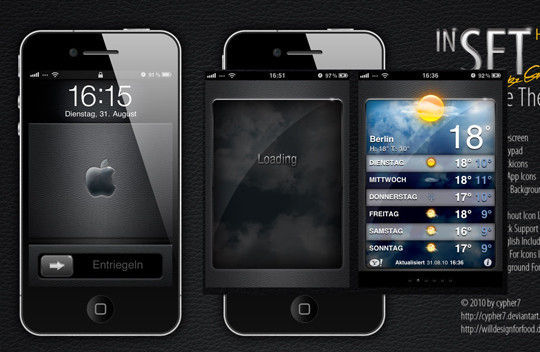 14 Free Mobile Phone And LCD Display PSD Template