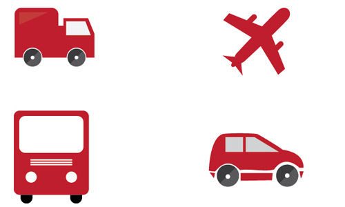Download Free Transport Vector Icons Set 1