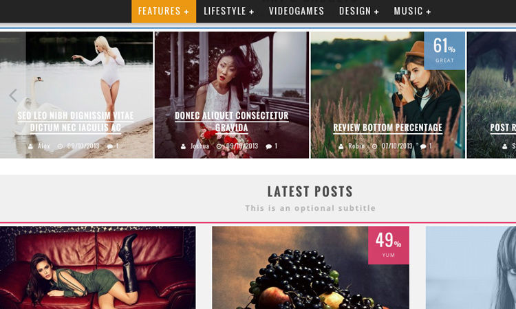 Current Design Trends for Blogs and Online Magazines