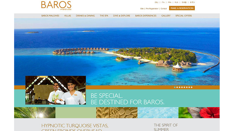 Fantastically Inspirational lodge and inn website Design