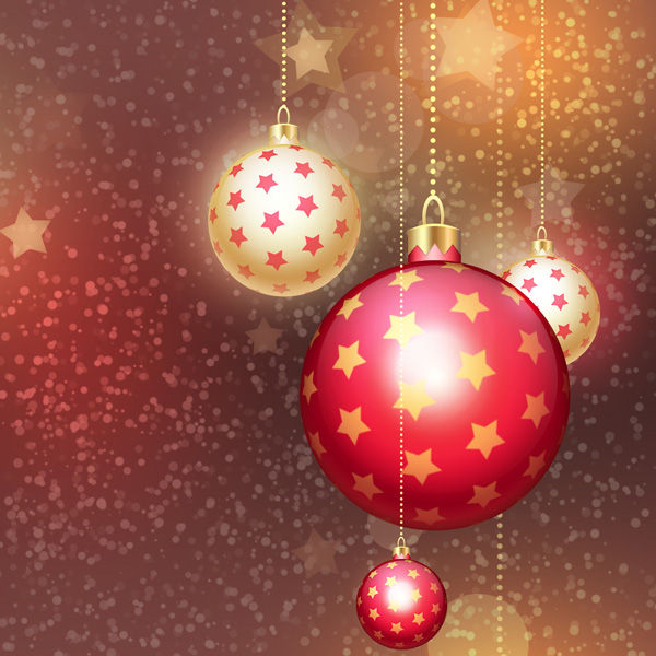 Christmas Design in Adobe Photoshop CS6 – pink and Gold Christmas Ball on Stars history