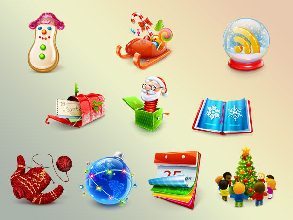 Christmas Decorations: Free Festive Downloads for Designers