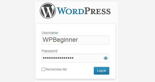 How one can allow users to cover/express Passwords on WordPress Login display