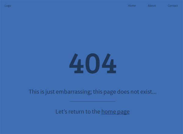 Creating a Simple and Effective 404 Page