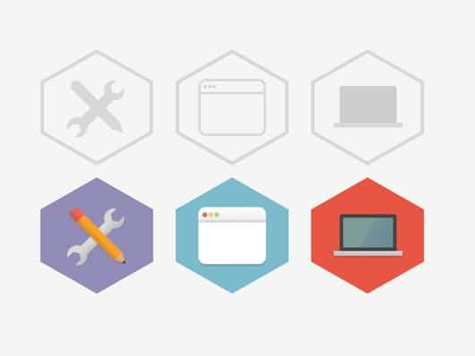 45 Best Useful Free Flat Icon Sets