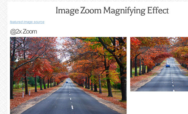 How To Code an Image Zoom Hover Display with jQuery