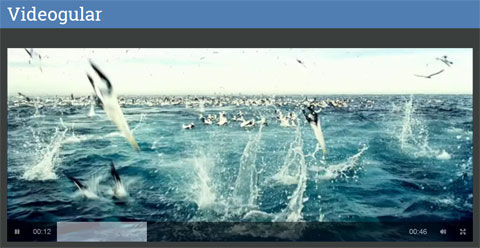 HTML5 video player for AngularJS