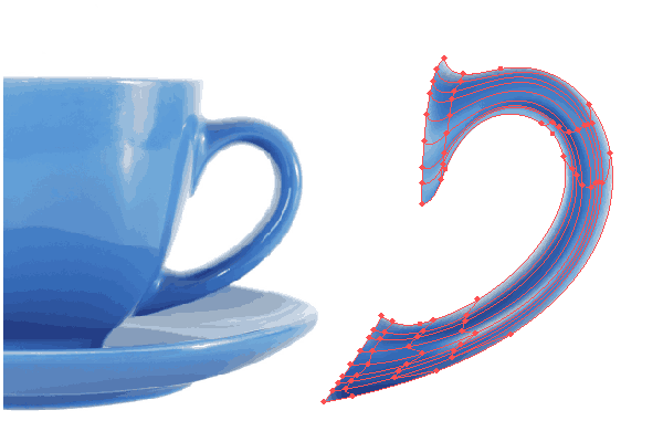 Working With Irregular Shapes in Gradient Mesh in Adobe Illustrator