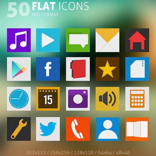 The Best Angle Flat Icons Showcase