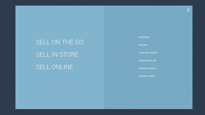 Create a sq.-Like 3D Animated Menu Gallery with jQuery square Menu