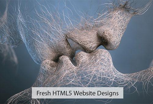 56 Fresh Creative Websites Built Using HTML5