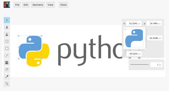 Open Source Vector Graphics Web App – Mondrian
