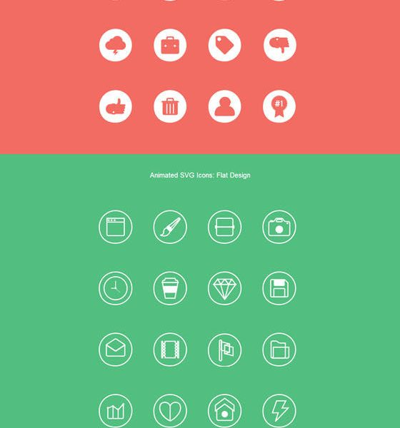 Free Animated SVG Icons