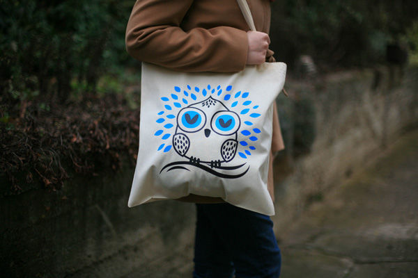 Create a Simple, Owl, Tote Design in Illustrator for Hot Foil Printing