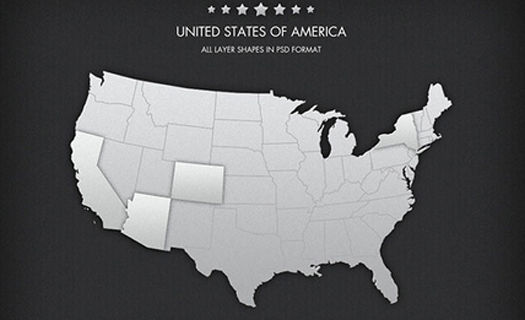 Free United States and World Vector Maps Collection