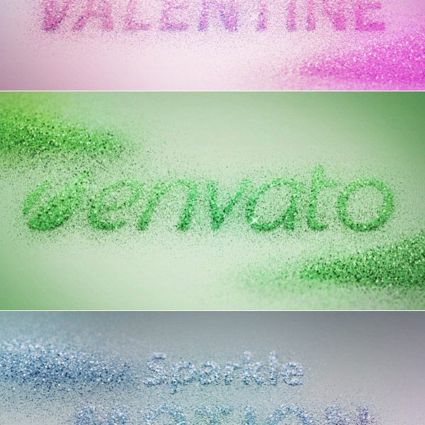 Create an Animated, Glittering, Valentine's Day Text Effect