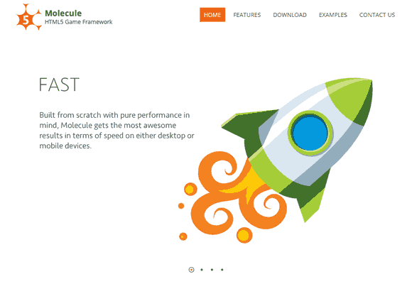 Build HTML5 Cross Platform Games with Molecule