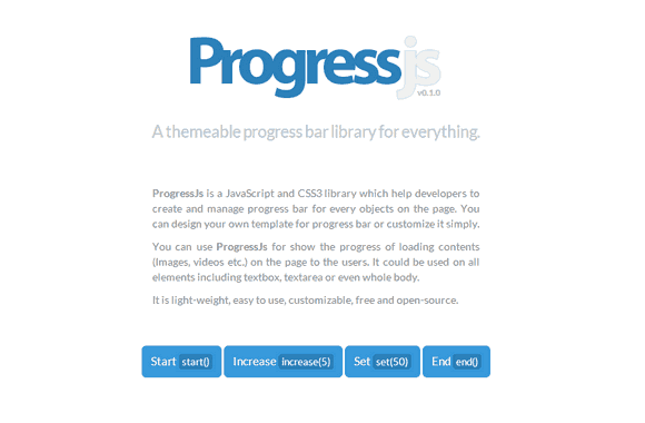 A themeable progress bar library for everything