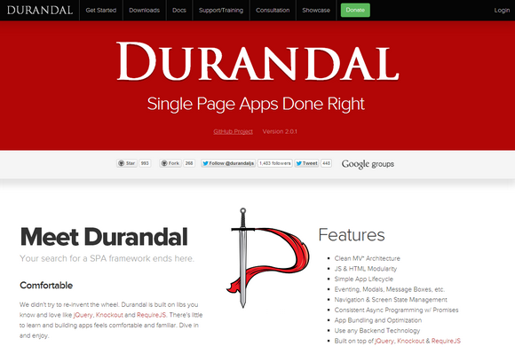Designed to Make Single Page Applications – Drundal
