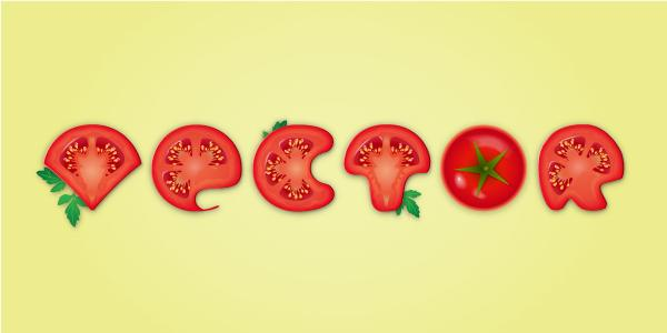 Create a Detailed Tomato Text Effect in Adobe Illustrator