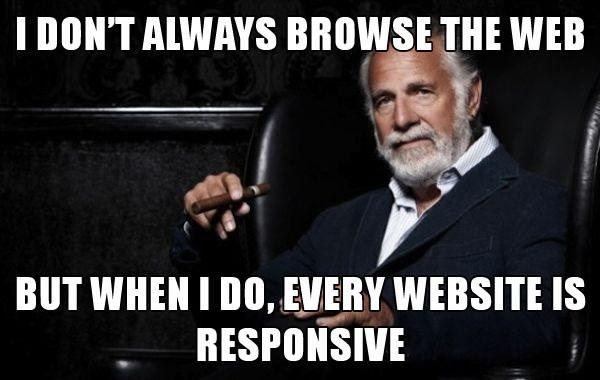 Responsive Web Design with Less Code