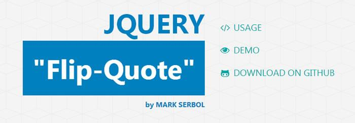 Create a pull-quote that flips on scroll