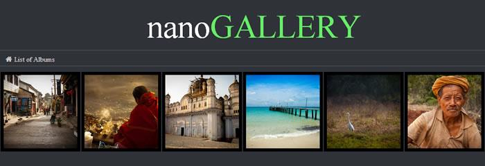 NanoGALLERY, image gallery simplified
