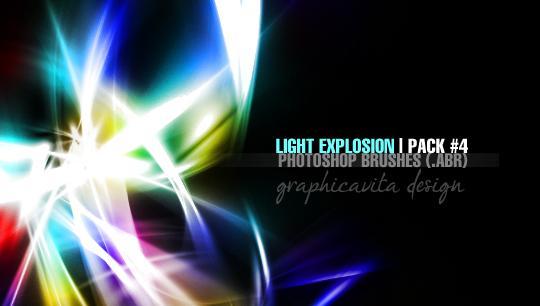 20 Free Light Effects Photoshop Brushes