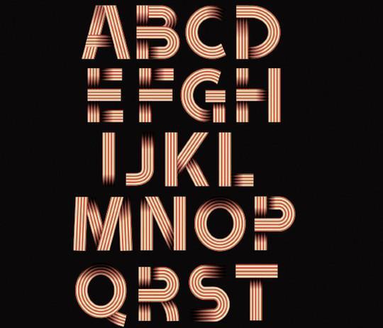 10 High Quality Free Ribbon Fonts