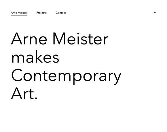 11 Inspiring Typography Focused Web Designs